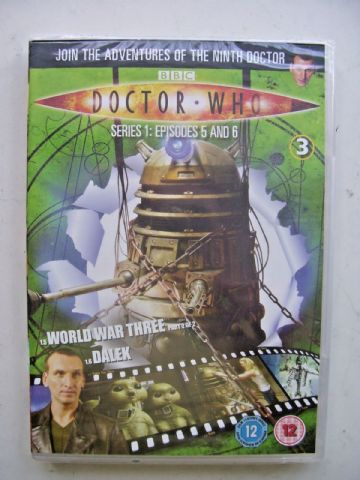 Doctor Who Series 1 Episodes 5 & 6  DVD  Christopher Eccleston  New and Sealed